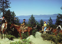 Horseback Riding - Attraction - Zephyr Cove-Round Hill Village, NV, Zephyr Cove-Round Hill Village, Nevada, US