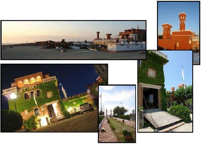 Castello Miramare Di Maccarese - Reception Sites - Via Praia a Mare, 10, Fiumicino, Lazio, 00057