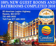 Comfort Inn & Suites Boston-Airport - Hotel - 85 American Legion Hwy, Revere, MA, 02151