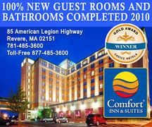 Comfort Inn & Suites Boston-Airport - Hotel - 85 American Legion Hwy, Revere, MA, 02151