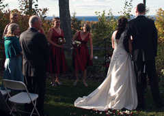 Landmark Resort - Ceremony - 7643 Hillside Road, Egg Harbor, WI, United States