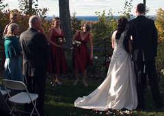 Landmark Resort - Ceremony - 7643 Hillside Road, Egg Harbor, WI, United States