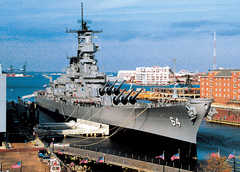 Nauticus Museum and Battleship Wisconsin - Attraction - 1 Waterside Dr, Norfolk, VA, 23510