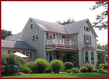 Amity Rose Bed & Breakfast - Hotels/Accommodations - 8264 Main Street Extension, Hammondsport, NY, 14840
