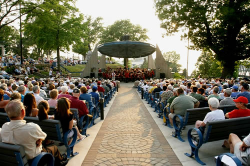 Howard E. Bandshell - Ceremony Sites - 519 Ship St, St Joseph, MI, 49085