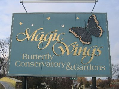 Magic Wings Butterfly Conservatory & Gardens - Attractions/Entertainment - 281 Greenfield Rd, South Deerfield, MA, 01373