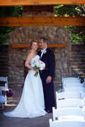 Ellicottville Wedding In July in little valley, ny