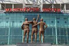 Manchester United FC Football Ground - Attraction - Sir Matt Busby Way, Manchester, United Kingdom