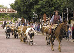 Fort Worth Stockyards - Attraction - 130 E Exchange Ave, Fort Worth, TX, 76164, US
