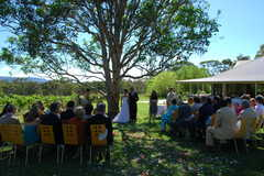 Wedding in the Hunter in Pokolbin, NSW, Australia