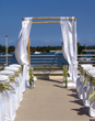 Sunset Ceremony Friday, July 22, 2010 - Ceremony Sites, Reception Sites - 3030 Holiday Dr, Fort Lauderdale, FL, 33316