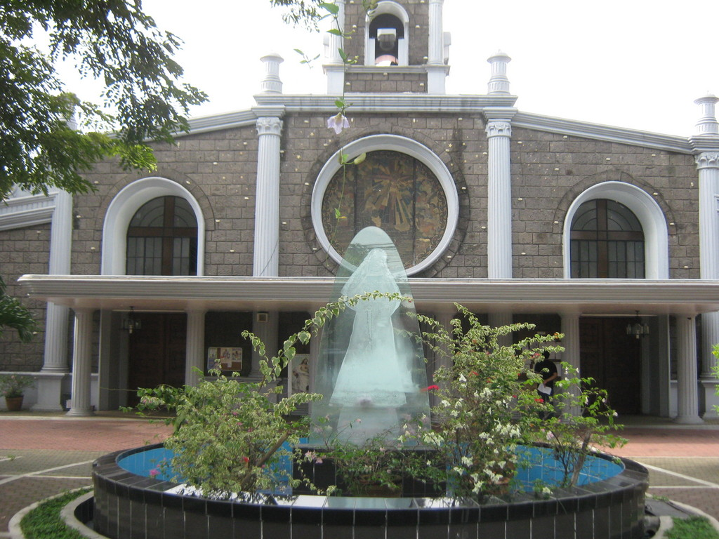 Sta. Rita De Cascia Parish - Ceremony Sites - east lawin street, Quezon City, Metro Manila, Philippines