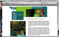 Dallas World Aquarium - Attraction - 1801 N Griffin St, Dallas, TX, United States