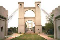 Waco Suspension Bridge - Waco Attraction - Waco, TX, United States