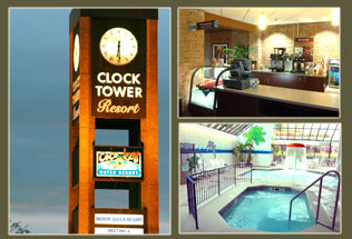 Clock Tower Resort - Hotels/Accommodations, Reception Sites - 7801 E State St, Rockford, IL, United States