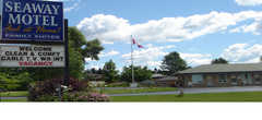 Seaway Motel - Hotel - 650 Main St W, Port Colborne, ON, L3K 5V4