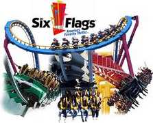 Six Flags Great America - Things To Do - 26101 Magic Mountain Parkway, Valencia, CA, 91355, US