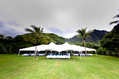 Kualoa Ranch Wedding In November in Kaaawa, HI, USA