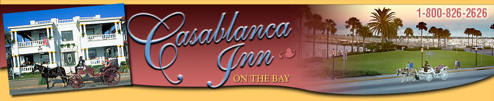Casablanca Bed & Breakfast - Hotels/Accommodations, Reception Sites - 24 Avenida Menendez, St Augustine, FL, 32084, US