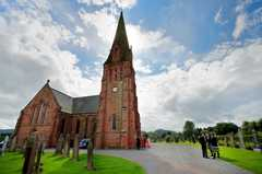 Penpont Church - 3pm Wedding - Ceremony -
