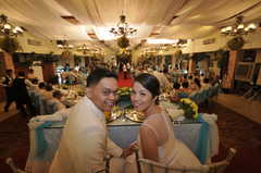 Manila Wedding In August in Tandang Sora, Quezon City, Philippines