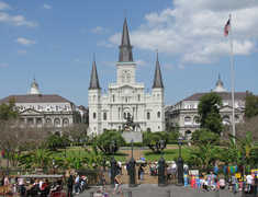 Jackson Square - Attraction - Chartres St & St Peter St, New Orleans, LA, United States
