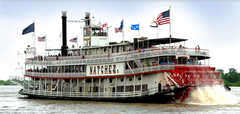 Steamboat Natchez - Tours - Toulouse St Wharf, New Orleans, LA, United States