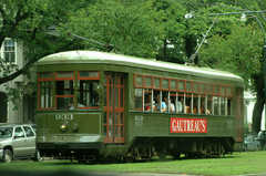 St. Charles Streetcar - Attraction - St Charles Ave & Canal St, New Orleans, LA, 70130