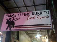 Juan's Flying Burrito - Restaurant - 2018 Magazine Street, New Orleans, LA