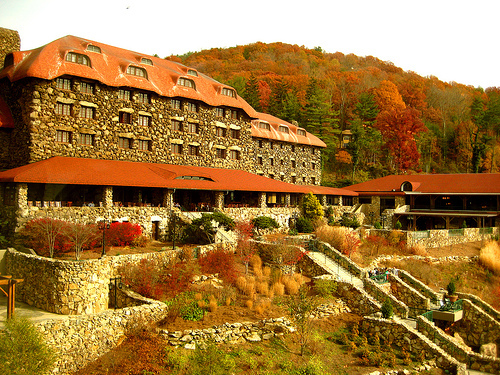 The Grove Park Inn Resort & Spa - Hotels/Accommodations, Ceremony Sites, Reception Sites - 290 Macon Avenue, Asheville, NC, United States