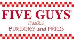 Five Guys Burgers & Fries - Restaurant - 8447 Cooper Creek Boulevard, Bradenton, Florida, United States