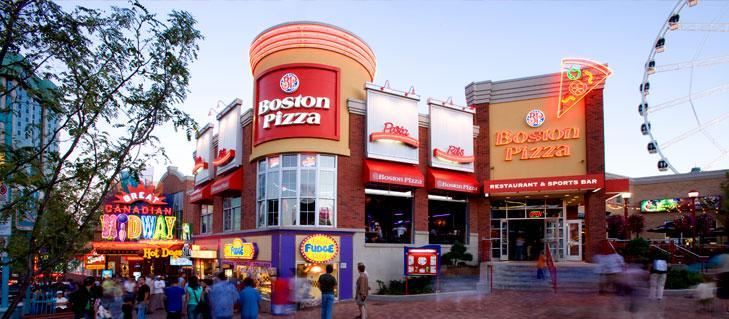 Boston Pizza - Reception Sites - 4948 Clifton Hill, Niagara Falls, ON, L2G 3N4