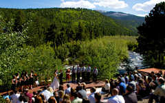 Allenspark Wedding In July in Allenspark, CO, USA