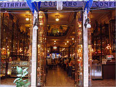 Reception at Confeitaria Colombo - Restaurant - Rua Goncalves Dias 32, Centro - Rio de Janeiro
