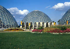 Domes - Mitchell Park - Attraction - 524 S Layton Blvd, Milwaukee, WI, United States