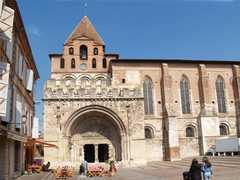 Abbaye de Moissac - Attraction - Place Durand de Bredon, Moissac, Midi-Pyrénées, FR