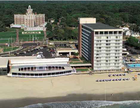The Cavalier Hotel - Hotels/Accommodations, Reception Sites, Ceremony Sites - 4201 Atlantic Avenue, Virginia Beach, VA, United States