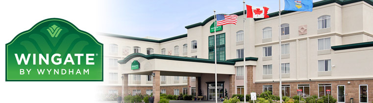 Wingate Calgary South - Hotels/Accommodations - 400 Midpark Way Southeast, Calgary, AB, T2X 1T8
