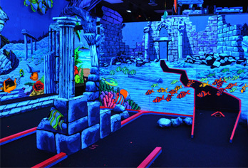 King Neptune's Indoor 3-d Golf - Attractions/Entertainment - 213 25th Street, Virginia Beach, VA, United States