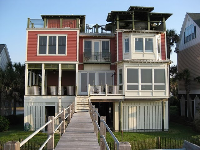 Folly Beach House - Reception Sites - 507 E Arctic Ave, Folly Beach, SC, 29439, US