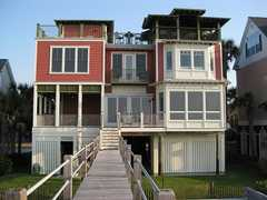 Folly Beach House - Reception Venue - 507 E Arctic Ave, Folly Beach, SC, 29439, US