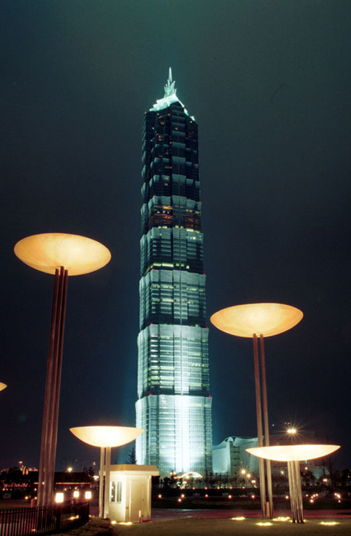 Jin Mao Tower - Attractions/Entertainment - 88 Shiji Road, Shanghai, China