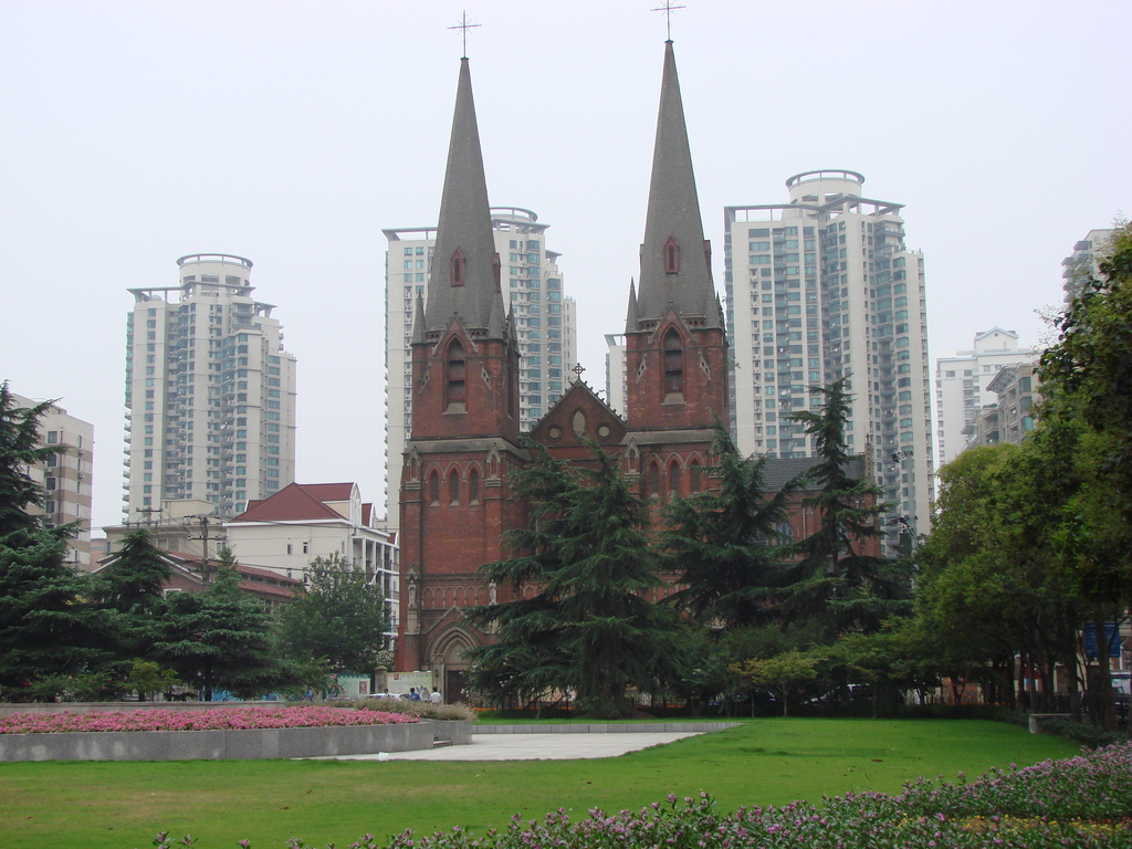 Xujiahui Catholic Church - Attractions/Entertainment - No 158, Puxi Road, Shanghai, China