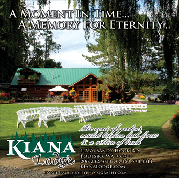 Kiana Lodge - Ceremony Sites, Ceremony & Reception, Reception Sites - 14976 Sandy Hook Rd NE, Poulsbo, WA, 98370, US