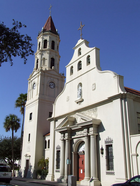 Cathedral Basilica Of St. Augustine - Ceremony Sites - 38 Cathedral Pl, St Augustine, FL, 32084