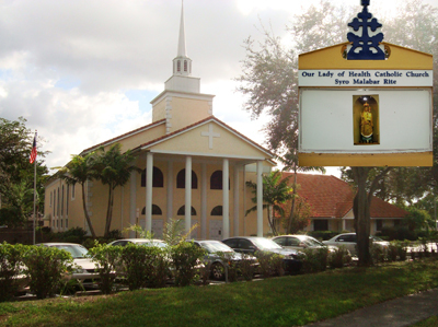 Our Lady Of Health Syro-malabar Catholic Church - Ceremony Sites - 201 N. University Drive, Coral Springs, FL, 33071