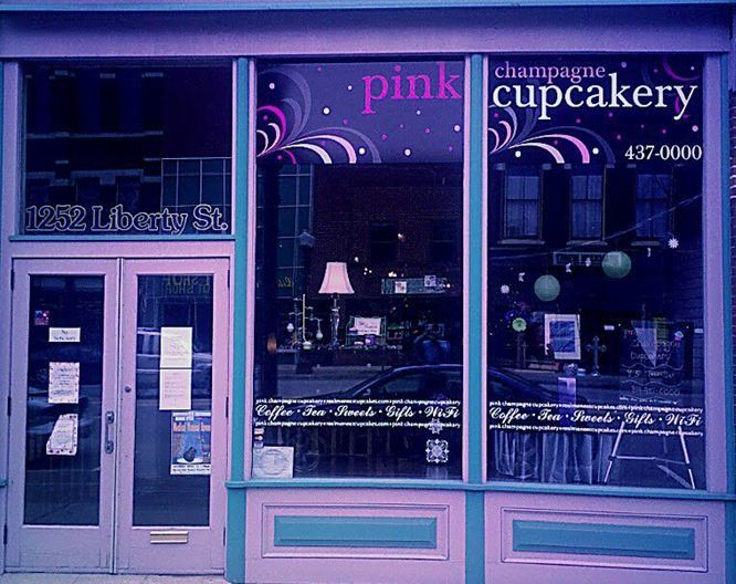 Pink Champagne Cupcakery - Attractions/Entertainment - 1252 Liberty St, Franklin, PA, 16323
