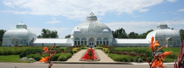 Erie County Botanical Gardens - Attractions/Entertainment, Reception Sites, Ceremony Sites, Parks/Recreation - 2655 S Park Ave, Buffalo, NY, 14218
