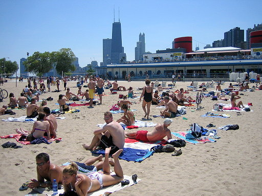 North Avenue Beach - Beaches - 1600 N Lake Shore Dr, Cook County, IL, 60613, US