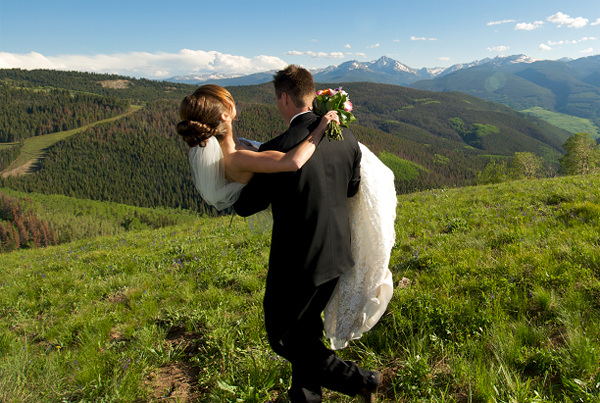 Vail Wedding Deck - Ceremony Sites - Bottom Lift 7, Vail, Colorado, United States